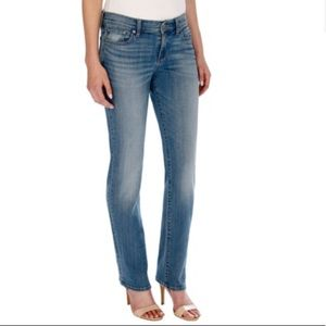 Lucky Brand Midrise Sweet Straight Jeans